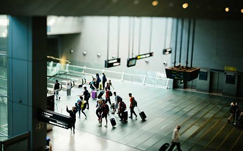 Airport travellers - smart airport